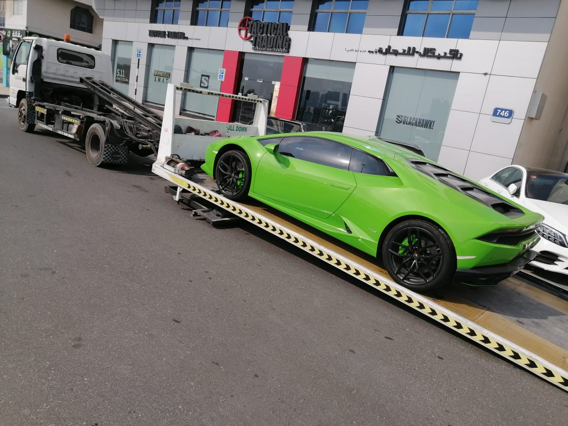 sports-car-towing